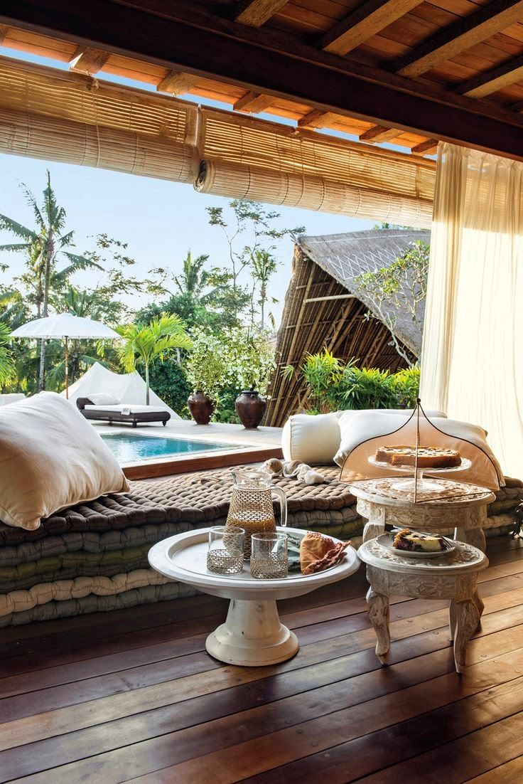 Room With a View: Legong Suite, Sandat Glamping, Ubud, Bali What a beautiful Photo! Sadat glamping is an incredible resort. -ET