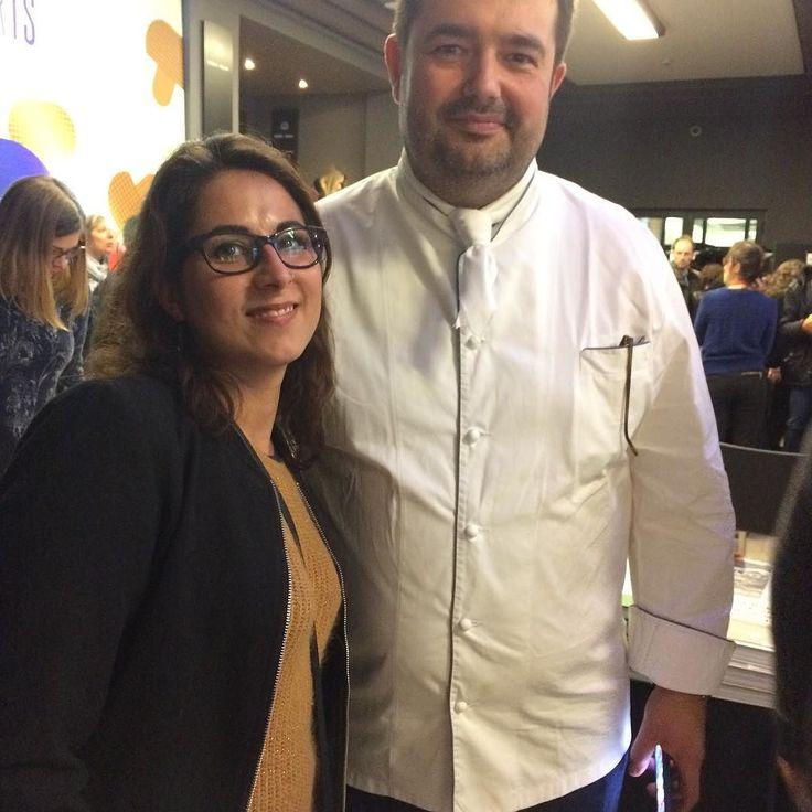 Première émotion gastronomique c était au crillon avec @jeanfrancoispiege #omnivores #fan #lesambassadeurs