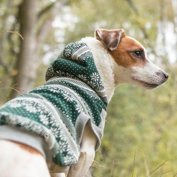 Warme Noordse hond Hoodie hond kleding warme hond door HappyPooch