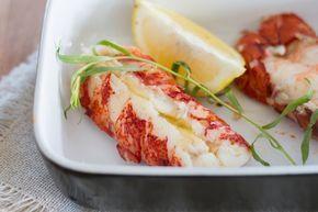 Sous Vide Butter-Tarragon Lobster Tails