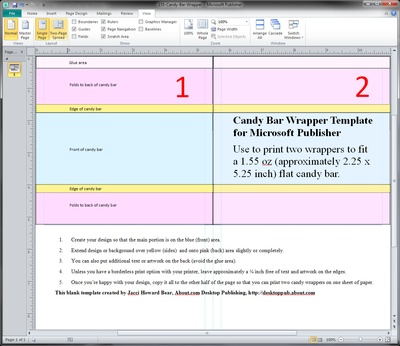 free candy bar wrapper template for word - guides and resources for making candy wrappers in