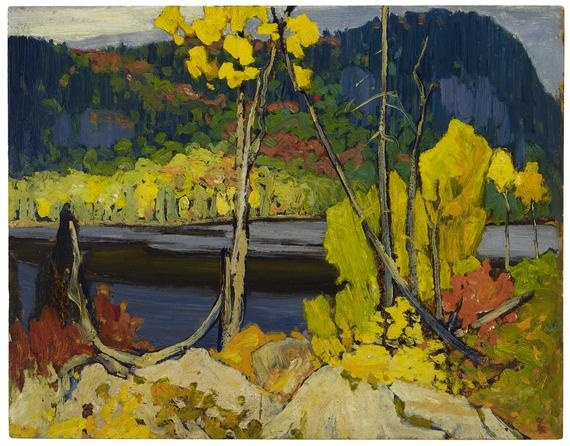Mitchell Lake, (1919) Lawren Stewart Harris