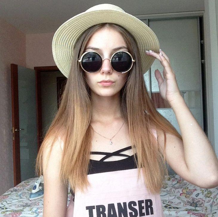Xuyijun Lady Boater sun caps Ribbon Round Flat Top Straw beach hat Panama Hat su