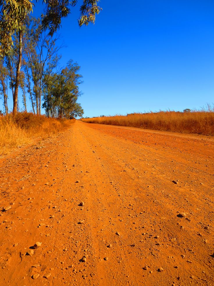 The long clay road to the farm
