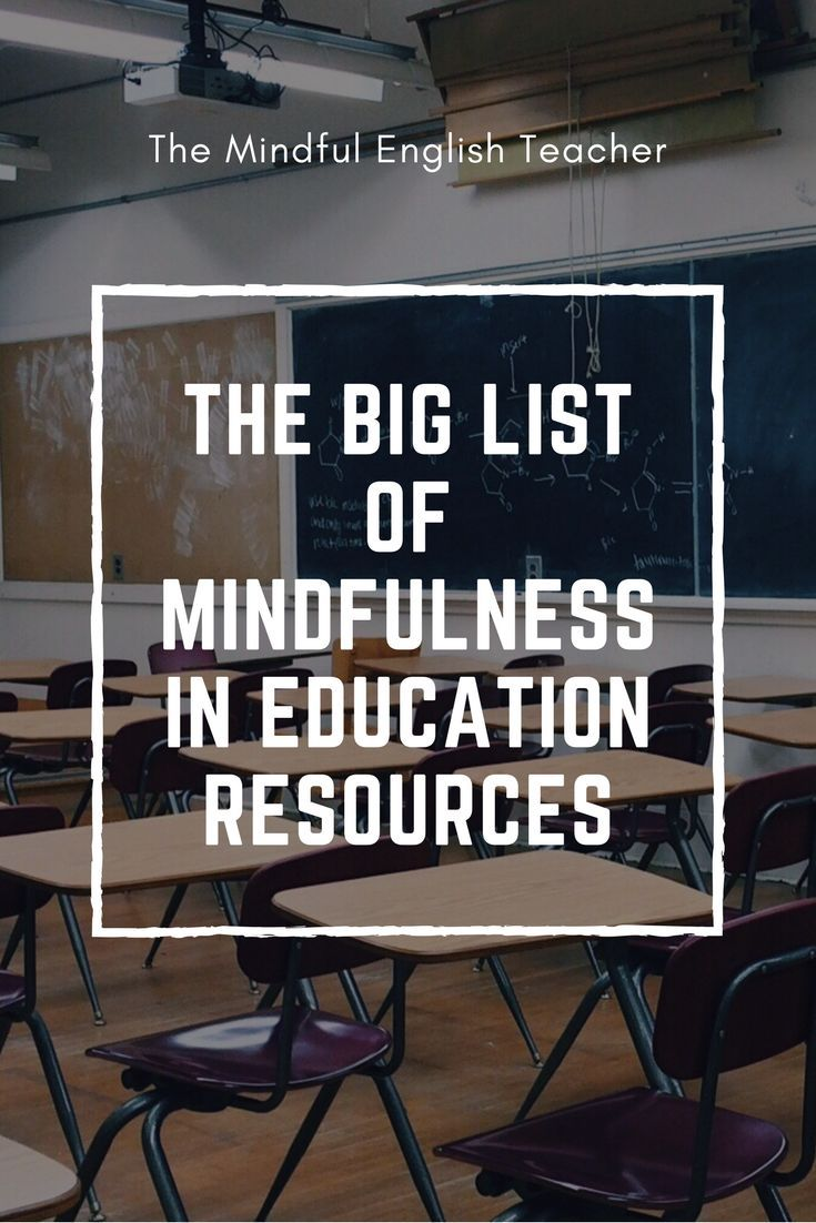 The Mindful English Classroom Teaching Mindfulness Mindfulness In Schools Teaching High School English