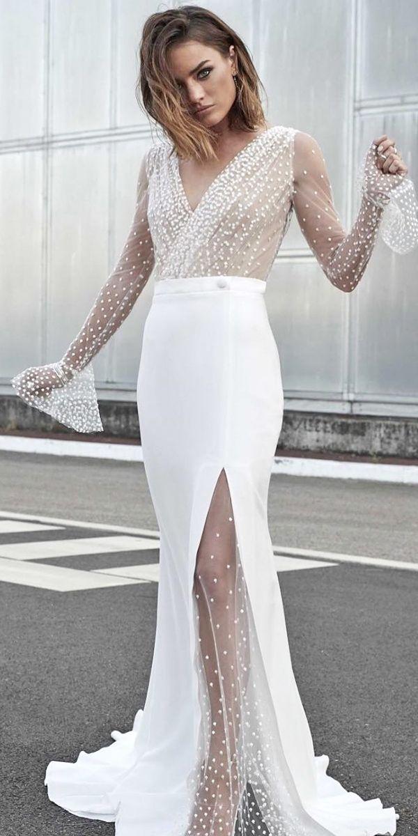 Die heißesten 21 Brautkleider im Herbst 2018 ❤ Weitere Informationen: www.weddingforwar … #wedding …   – Weddings