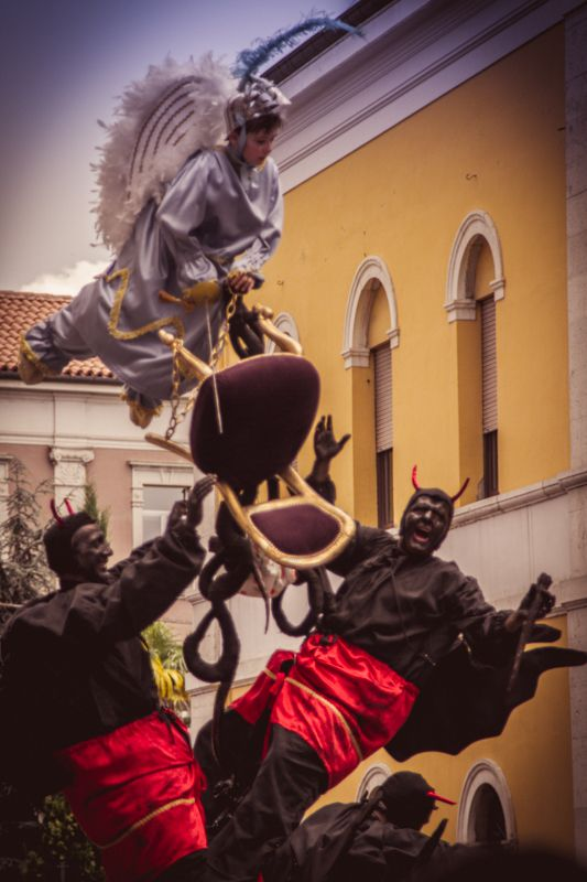 i Misteri di Campobasso tra sacro e profano.