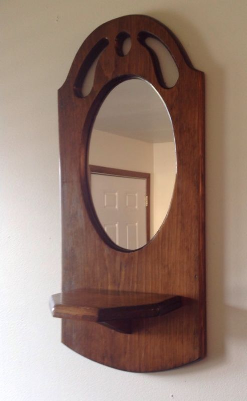Hallway mirror shelf for home hallway pinterest for Hallway mirror and shelf