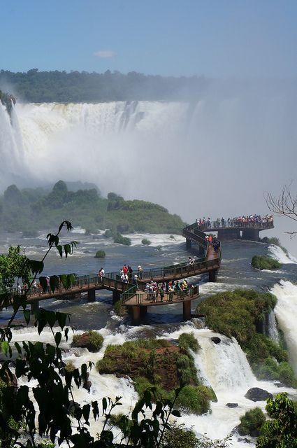 Iguassu Falls, Brazil/Argentina.  Photo: KarlGercens.com, via Flickr