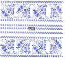 schöne NAGELSTICKER Nail Art Tattoo Aufkleber Muster Blumen Nagel sticker NT11