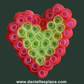 drinking straw heart www.daniellesplace.com