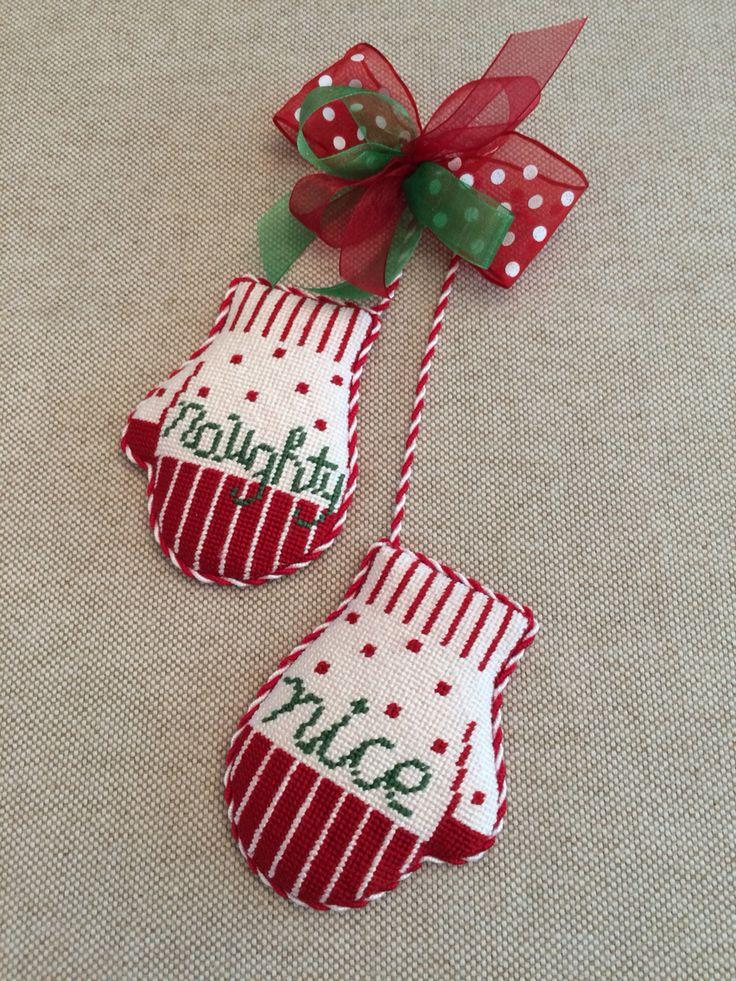 Peppermint Christmas Tree Ornaments