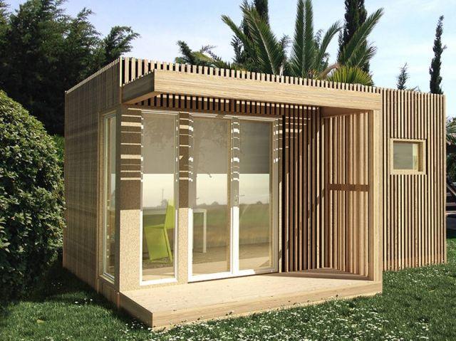 9 best Studio de jardin Greenkub images on Pinterest Garden studio - extension maison bois 20m2