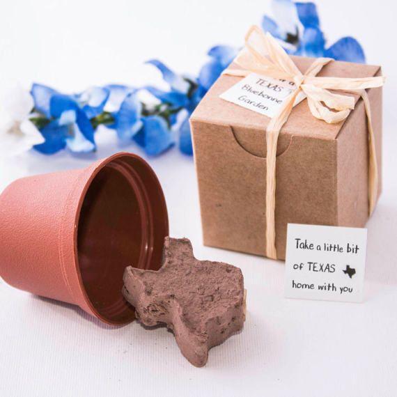 Texas Wedding Favors Texas Bluebonnet Gifts & by NatureFavors
