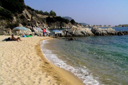 paradise beach halkidiki