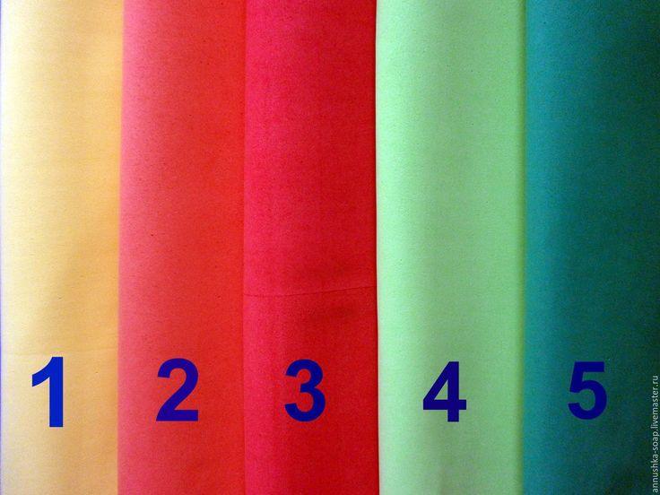 Купить Фоамиран иранский, 50 см, цветной, 1 мм. - комбинированный, фоамиран иранский, фоамиран