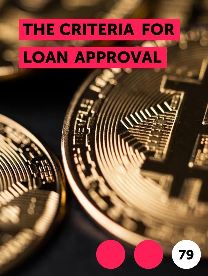 The Criteria For Loan Approval When You Submit An Application For A Loan Your Information Is Reviewed By A Team In 2020 How To Apply Law School Mathematics Education