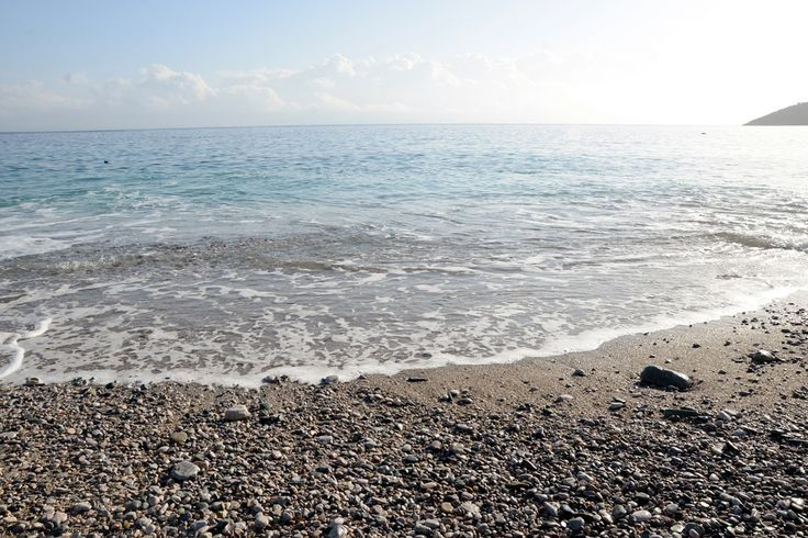 This beach is few steps away from our hotel in Tyros Peloponnese Greece.