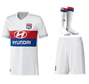 2017 Cheap Kit Olympique Lyon Home Replica Full Suit [AFC555]