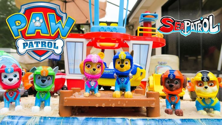 New Paw Patrol Sea Patrol Episode Pups Save a Shark with new Paw Patrol Toys like the Beach Tower. If you want to see more Paw Patrol Videos For Kids let us know in the comments below!   The Toy Army is a toy review channel featuring fun kids toys like Transformers Shopkins Disney Cars Legos Monster Jam Monster Trucks and My Little Pony. We also love featuring and McDonalds Happy Meal Toys!  Have you seen our Giant Play Doh Surprise Eggs?…