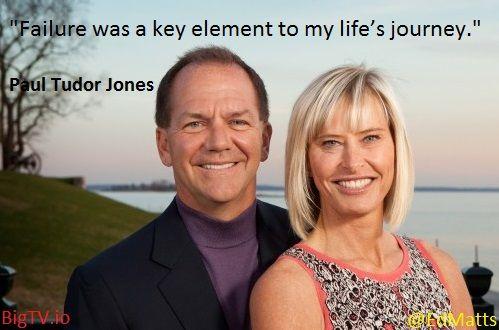 Paul Tudor Jones Failure Key to Life