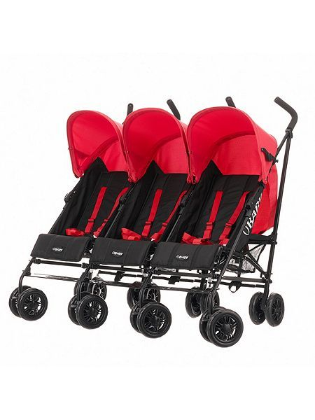 OBaby Mercury Triple Stroller http://www.parentideal.co.uk/house-of-fraser--pushchairs-prams.html