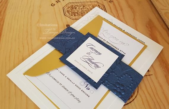 2020 Wedding Trends Best Invitation Value Kit With 3 Cards In A Set Custom Made Marriage Invitation Cards In Colors Blue Gold And Pink Marriage Invitation Card Nautical Invitations Making Wedding Invitations