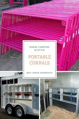 Horse Camping: Portable Corrals