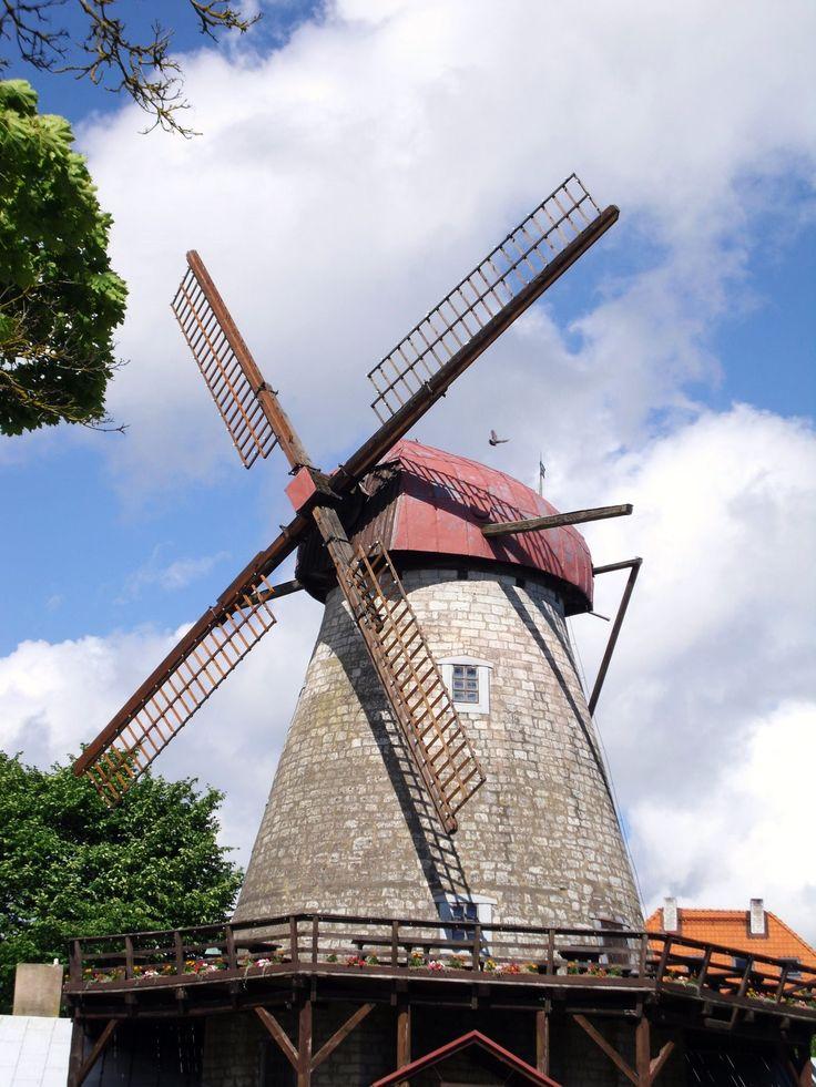 Windmill in Kuressaare, Saaremaa, Estonia