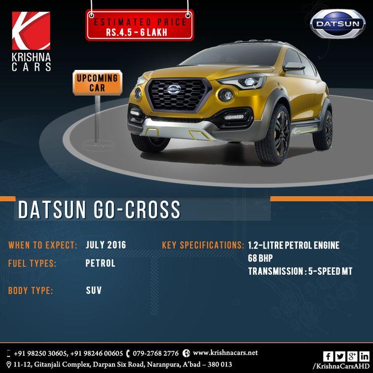#Upcoming #Car in July 2016- #DUSTON #GO-CROSS #Krishnacars #Preownedcars