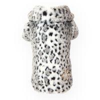 Puppy Angel Animal Print Dog Coat in Grey £43.99