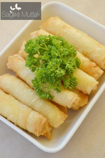 Patates püreli  Sigara Böreği