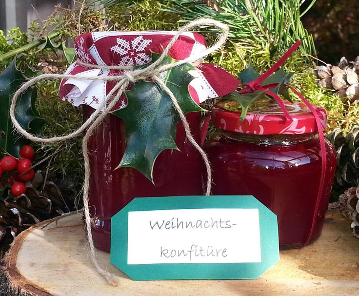 """Rezept Weihnachtskonfitüre """"Mein Wintertraum"""" von Thermododo - Rezept der Kategorie Saucen/Dips/Brotaufstriche"""