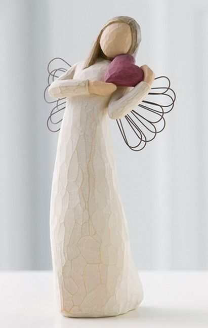 Willow Tree Angel of the Heart Tall by Susan Lordi