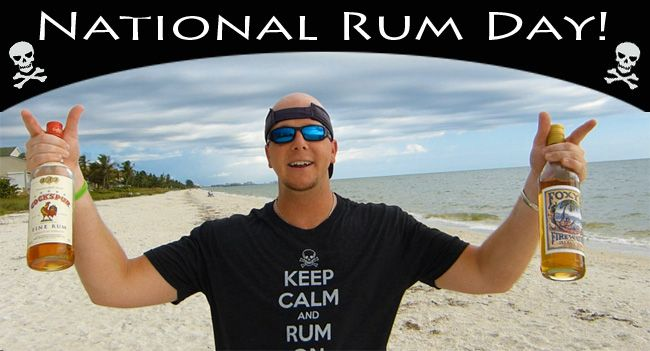 Today, August 16th, is National Rum Day, A Celebration Of All Things Rum!