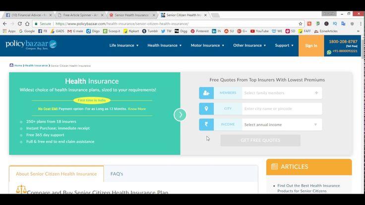 Senior Health Insurance Plan