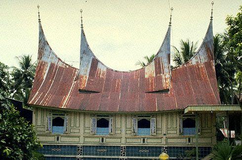 Houses of Sumatra.