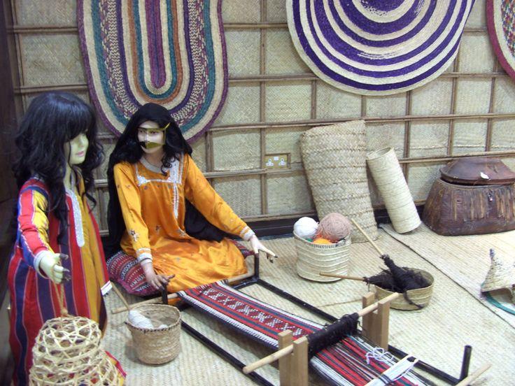 bedouine life in women's craft center museum