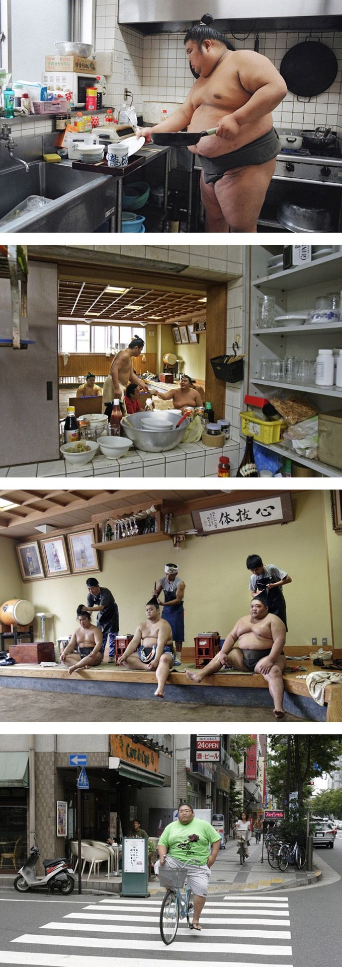 A Day in the Life - Sumo / Paolo Patrizi