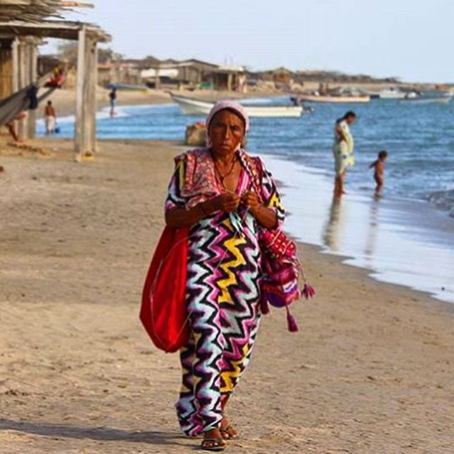 Guajira is one of the most exotic places on earth. This is the place, where our bags come from. Thank you for your support of Indigenous Women of Colombia #wayuutribe #discover #explore #colombia #kolumbia #cabodelavela #jepira #wayuuland #tierrawayuu #sacredland  Photo courtesy @monsieurkool