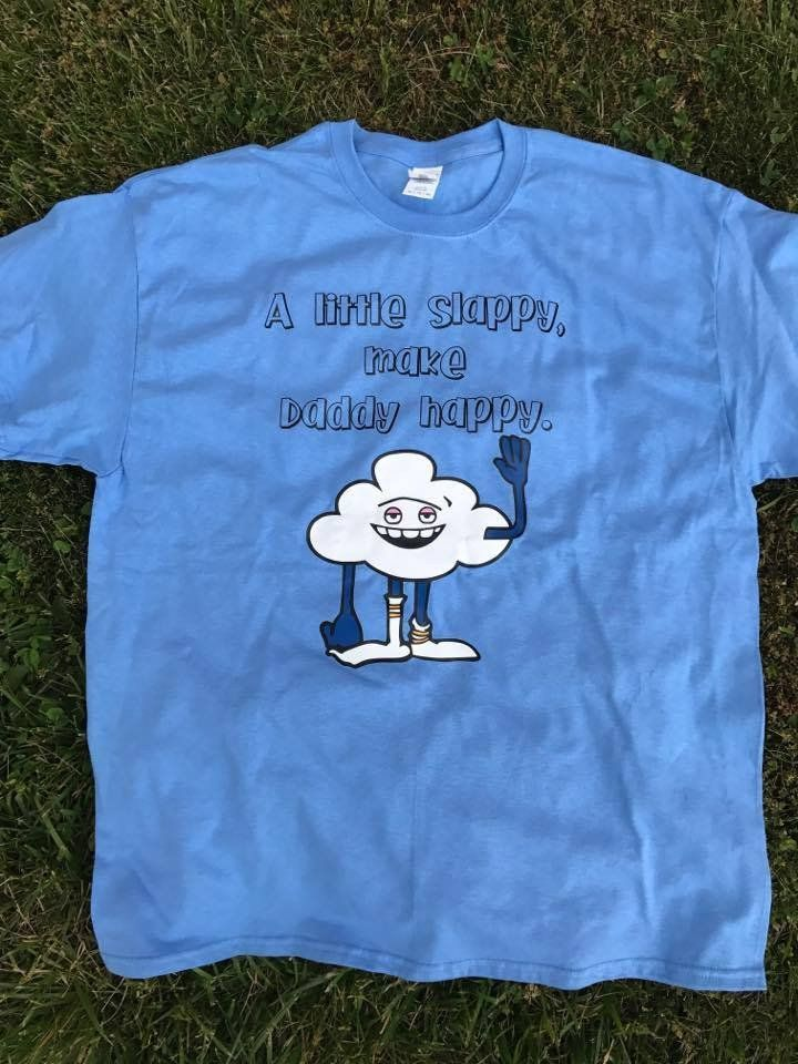 Dad T Shirt, A Little Slappy, Makes Daddy Happy, Trolls T Shirt