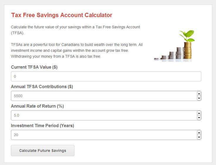 How much money can you save over 30 years? Find out with my Tax Free Savings Account Calculator