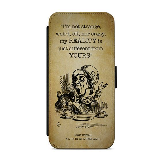 This Beautifully designed Alice in Wonderland inspired mobile phone PU leather Wallet flip Cover Case is available for a wide range of phone models. We have listed the most popular iPhone and Samsung models in the drop down list. If you cant see your phone listed please send us a message to see if your model is available.  The Phone case is a high quality PU leather material with a rubberised inner case. The high quality face has crisp and sharp images which are highly durable, waterproof…