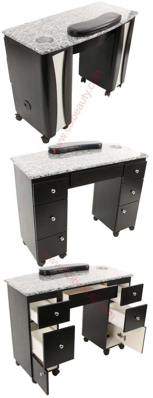 les 25 meilleures id es de la cat gorie table manucure sur pinterest ongles ors et noirs. Black Bedroom Furniture Sets. Home Design Ideas