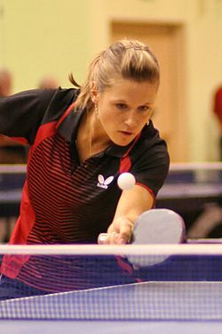 Natalia Partyka - #onehanded Olympic table tennis player #limbdifference