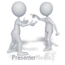stick figure heated argument powerpoint animation
