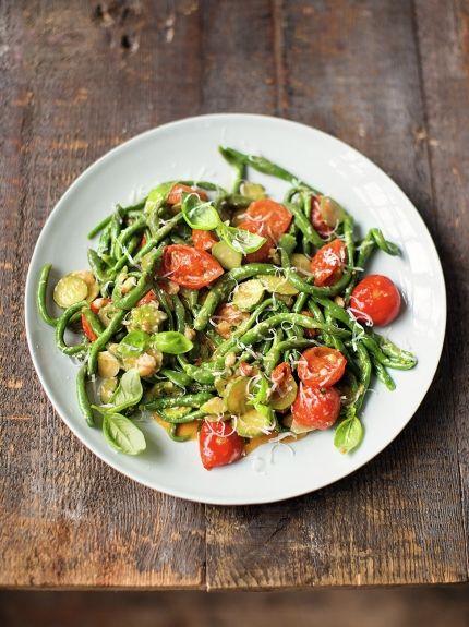 Spinach pici pasta   Jamie Oliver