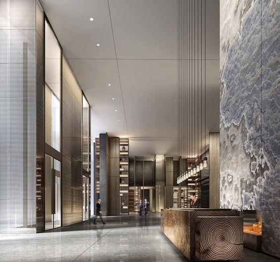 Lobby Interior Design: 17 Best Ideas About Office Lobby On Pinterest