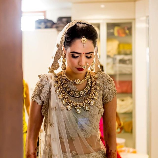 50 Brides Who Layered Their Jewellery See All The Photos By Clicking Link In