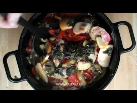 Тухум-барак (яичные пельмени). Egg pel'menis - YouTube